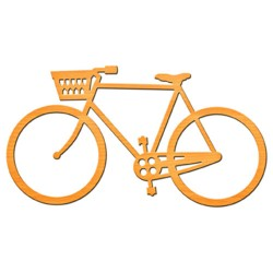Универсален шаблон за изрязване и релеф - Spellbinders - Bicycle In Spire - Shapeabilities