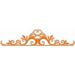 Универсален шаблон за изрязване и релеф - Spellbinders - Flourish Trim