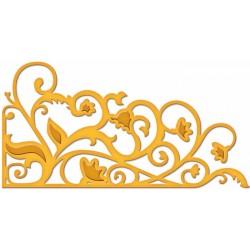Универсален шаблон за изрязване и релеф - Spellbinders - Garden Weave
