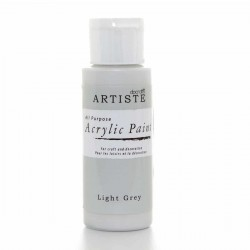 ACRYLIC PAINT - Artiste - LIGHT GREY - акрилна боя