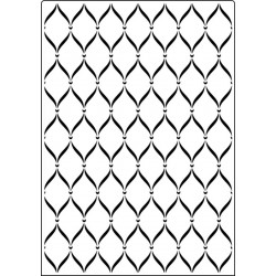 Папка за релеф - Crafts Too  - Embossing Folder - A4 Sweet Lattice