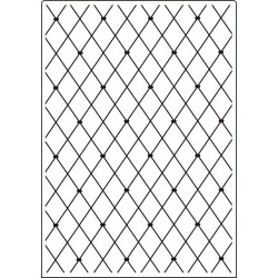 Папка за релеф - Crafts Too  - Embossing Folder - A4 Lattice