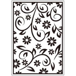 Папка за релеф - Crafts Too  - Embossing Folder Floral Summer