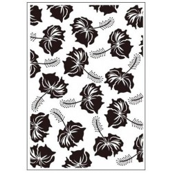 Папка за релеф - Crafts Too  - Embossing Folder - Tropical Flowers