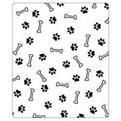 Папка за релеф - Crafts Too  - Embossing Folder - Bone & Paw Print
