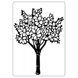Папка за релеф - Crafts Too  - Embossing Folder - Floral Tree
