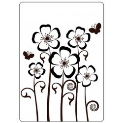 Папка за релеф - Crafts Too  - Embossing Folder - Pansies
