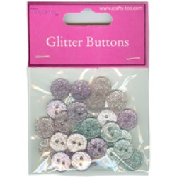 Микс от копчета - 30бр. - Crafts Too Buttons Mixed Buttons 30pcs