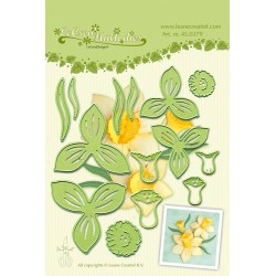 Шаблон за рязане и релеф минзухар - Lea-bilities Cutting Multi Die - Flower 007 Daffodil