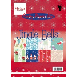 Дизайнерско блокче - Marianne Design Paper Bloc - Jingle Bells