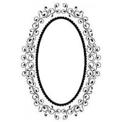 Папка за релеф - Crafts Too Embossing Folder  - OVAL FRAME