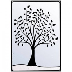 Папка за релеф - Crafts Too Embossing Folder Leafy Tree
