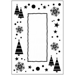 Папка за релеф - Crafts Too  - Embossing Folder Let it Snow