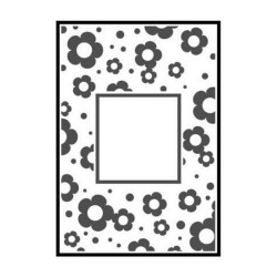 Папка за релеф - Crafts Too  - Embossing Folder - Flowers Frame