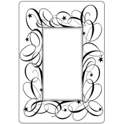 Папка за релеф - Crafts Too - Embossing Folder Swirl Frame
