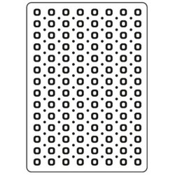 Папка за релеф - CT Embossing Folder Spots & Dots