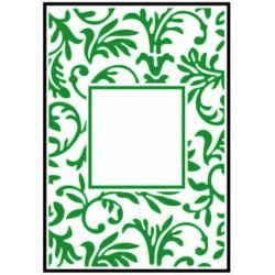 Папка за релеф - Crafts Too  - Embossing Folder - Floral Frame