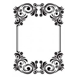 Папка за релеф - Crafts Too Embossing Folder FANCY FRAME