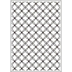 "Папка за релеф - Crafts Too - Embossing Folder 5x7"" Lattice"