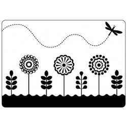 Папка за релеф - Crafts Too Embossing Folder - Spring Garden