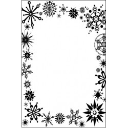 Папка за релеф - Crafts Too Embossing Folder - Frost Frame