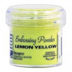 Ембосинг пудра - Ranger Embossing Powder - Lemon Yellow