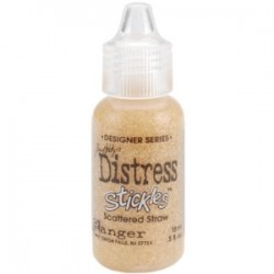 Брокатено лепило - Distress Stickles - Tim Holtz - Scattered Straw
