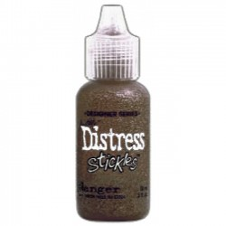 Брокатено лепило - Distress Stickles - Tim Holtz - Frayed Burlap
