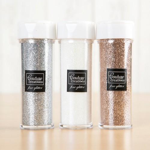 Комплект от три цвята брокат  - Couture Creations Be Merry And Classic Glitter Assortment (CO724917)