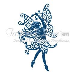 Универсална щанца за рязане и релеф фея - Tattered Lace Heather Fairy (ACD608)