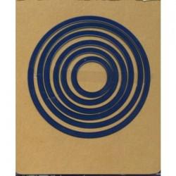 Универсална щанца за рязане и релеф - Aurelie Circle Nesting Die (AUCD1007)