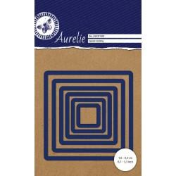 Универсална щанца за рязане и релеф - Aurelie Square Nesting Die (AUCD1009)