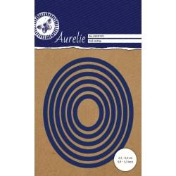Универсална щанца за рязане и релеф - Aurelie Oval Nesting Die (AUCD1011)
