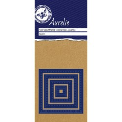 Универсална щанца за рязане и релеф - Aurelie Cross-Stitch Square Mini Nesting Die (AUCD1034)