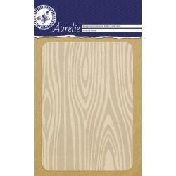 Ембосинг папка / папка за релеф имитация на дърво - Aurelie Textured Wood Background Embossing Folder (AUEF1010)
