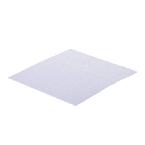 Двойнолепящи 3D фоам квадратчета - 1мм - Aurelie 3D Foam Pad White 5x5x1 mm (AUFP1001)
