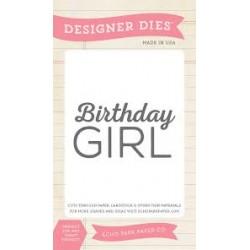 Универсална щанца за рязане и релеф - Echo Park Birthday Girl Designer Dies (BDG85033)