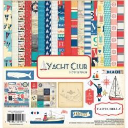 "Дизайнерски комплект 12"" х 12"" - Carta Bella Yacht Club 12x12 Inch Collection Kit (CBYC52016)"