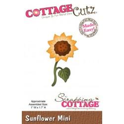 Универсална щанца за рязане и релеф слънчоглед - Scrapping Cottage Sunflower Mini (CC-MINI-150)