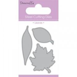 Тънка метална щанца листа - Dovecraft Die - Leaves (DCDIE013)