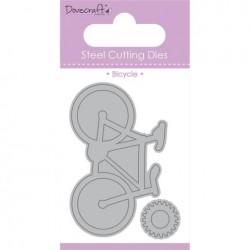 Тънка метална щанца колело - Dovecraft Die - Bicycle (DCDIE025)