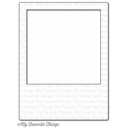 Универсална щанца за рязане и релеф рамка за снимка - My Favorite Things Die-namics Polaroid Cover-Up (MFT-574)