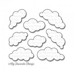 Тънка метална щанца облаци - My Favorite Things Die-Namics Puffy Clouds (MFT-830)