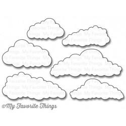 Тънка метална щанца облаци - My Favorite Things Die-Namics In The Clouds (MFT-833)
