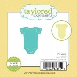 Универсални метални щанци бебешко боди - Taylored Expressions Little Bits Onesie (TE537)
