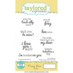 Гумен печат - Taylored Expressions Punny Love (TEPS144)