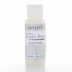 Медиум - напукващ / състарен ефект - Docrafts Acrylic Paint (2oz) - Crackle Medium (DOA 763007)