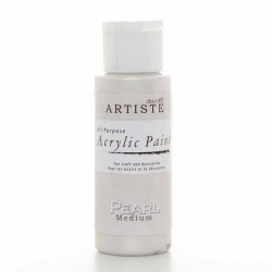 Медиум - ефект перла - Docrafts Acrylic Paint (2oz) - Pearl Medium (DOA 763001)