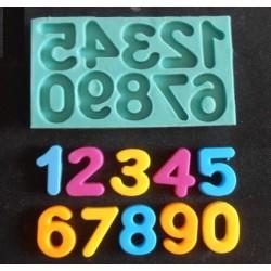 Молд - Цифри комплект 3 - 0-9