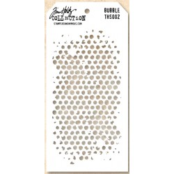 Стенсил - Tim Holtz -  Bubble Layered Stencil